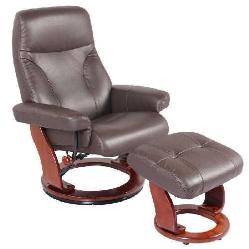 Used Wayfair Leather Manual Swivel Recliner for sale on AptDeco