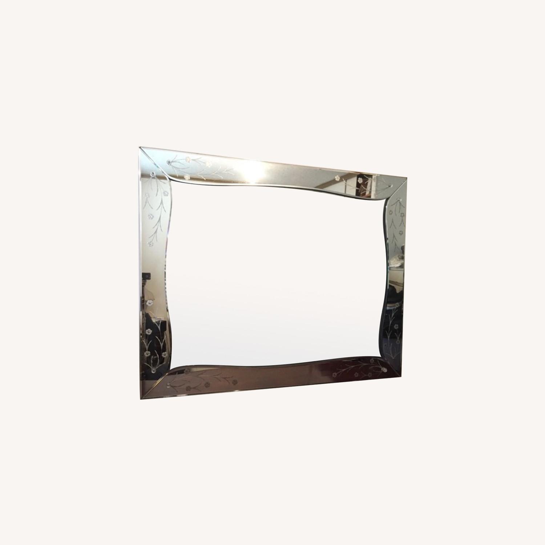 Antique Venetian Mirror Circa 1940s Aptdeco