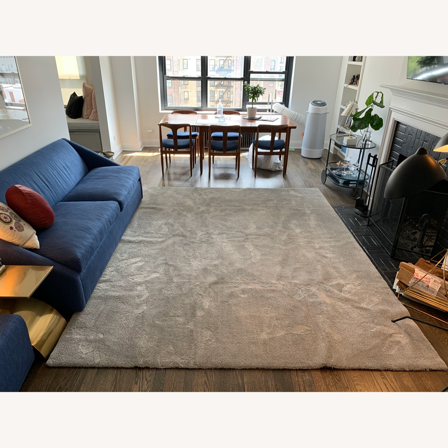 Touch Grey Area Rug - image-0