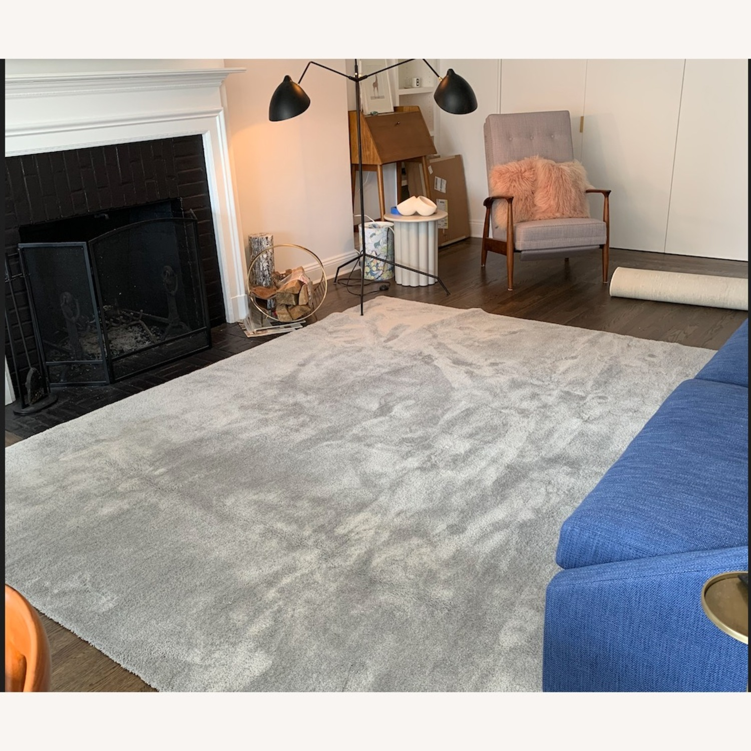 Touch Grey Area Rug - image-4