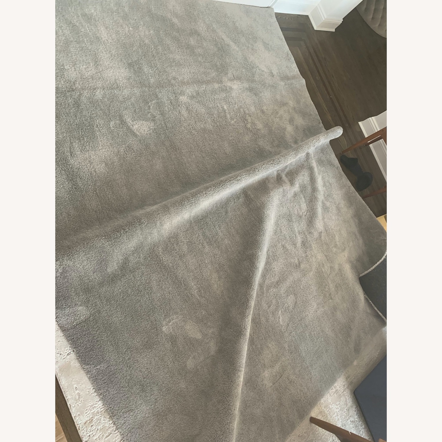 Touch Grey Area Rug - image-1