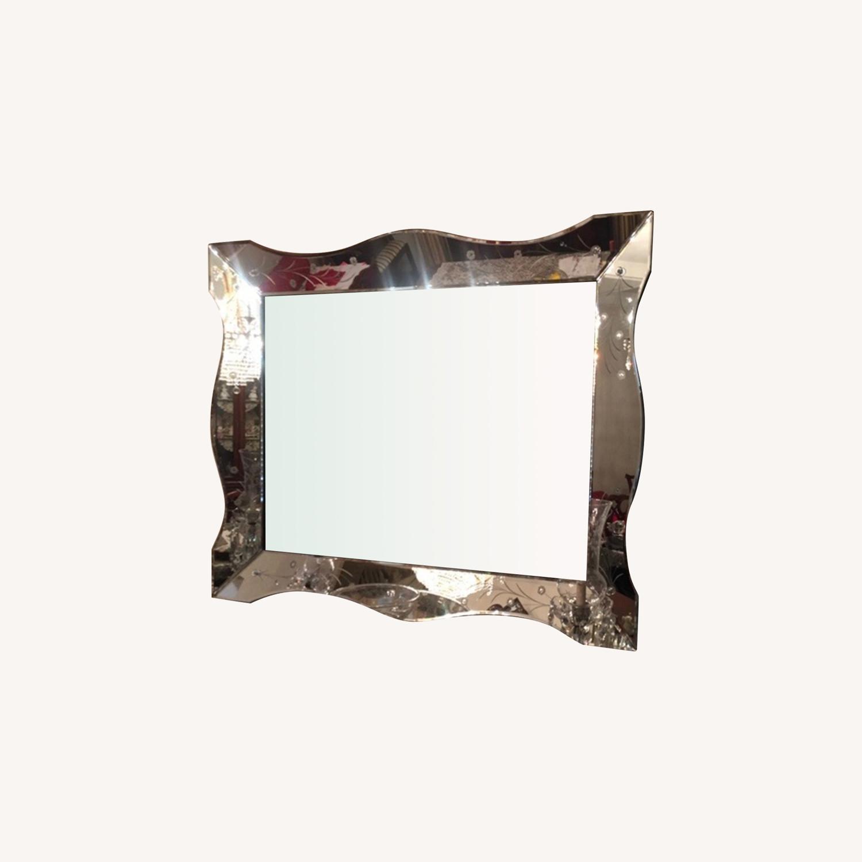 Antique Venetian Mirror Circa 1940s - image-0