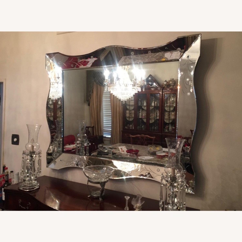 Antique Venetian Mirror Circa 1940s - image-1