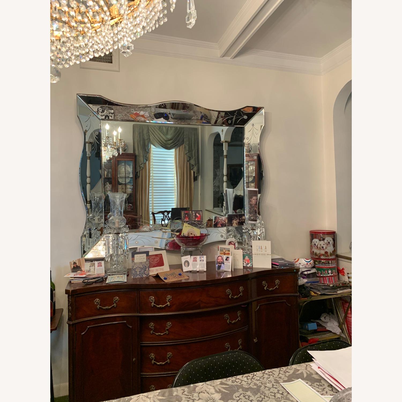 Antique Venetian Mirror Circa 1940s - image-4