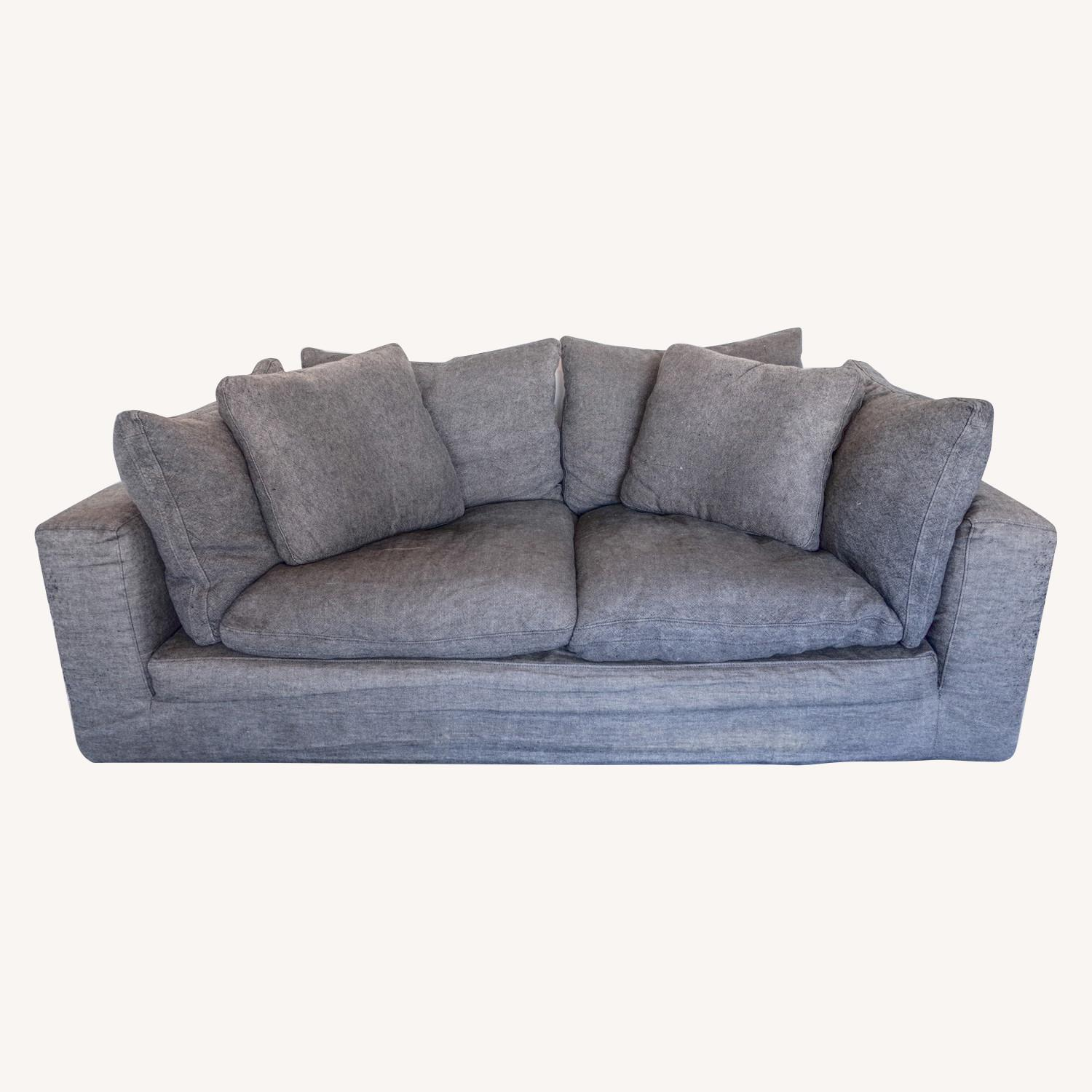 Restoration Hardware Cloud 2 Seat Cushion Sofa - image-0