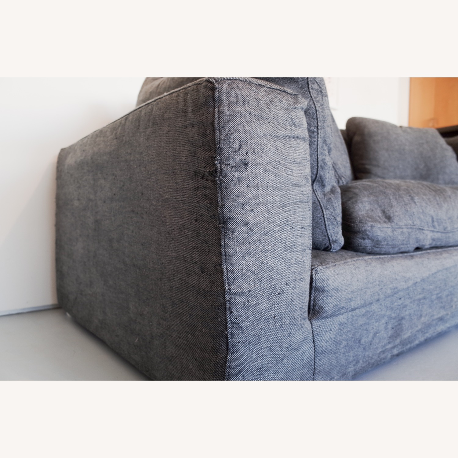Restoration Hardware Cloud 2 Seat Cushion Sofa - image-4