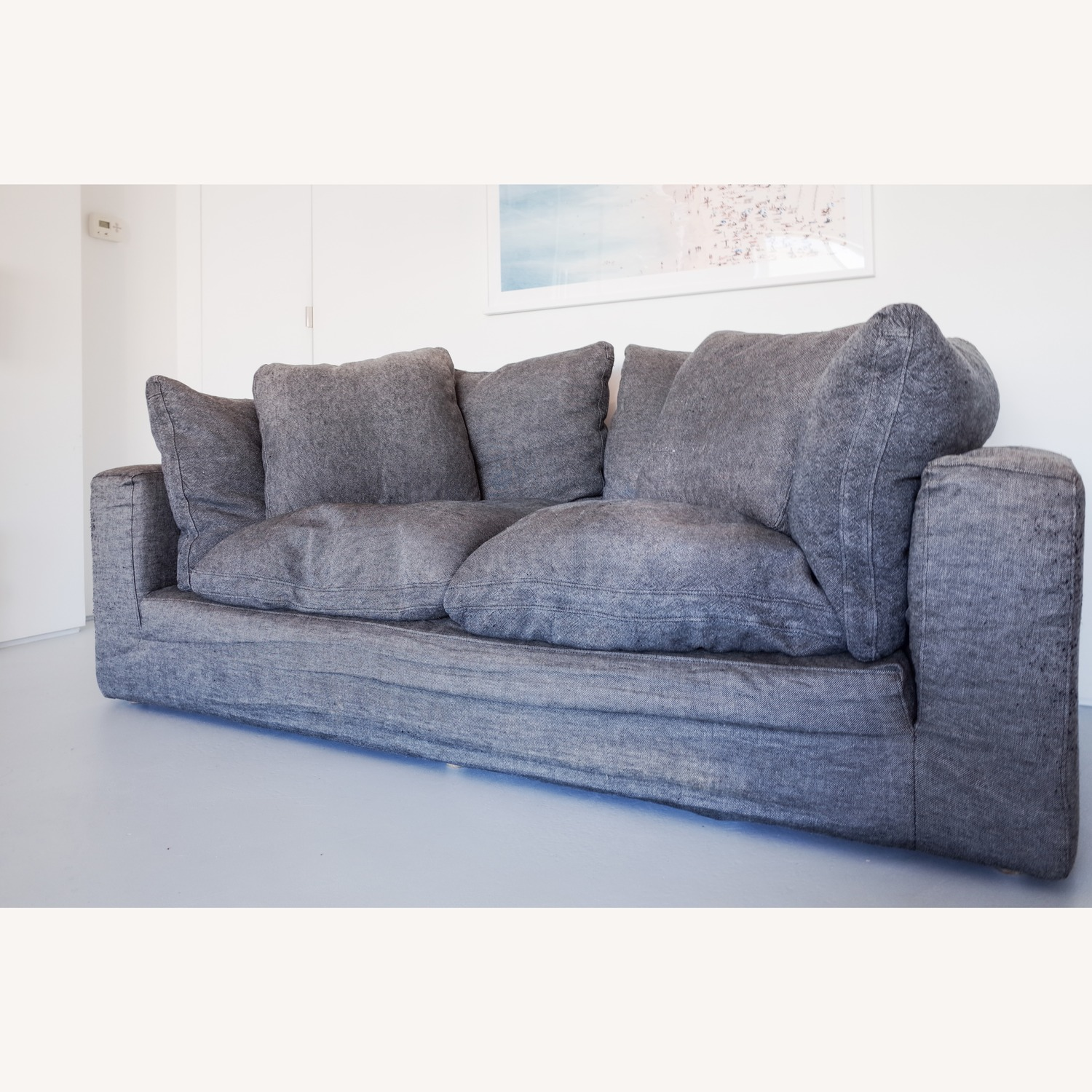 Restoration Hardware Cloud 2 Seat Cushion Sofa - image-2