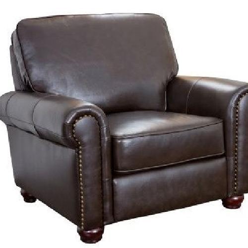 Used Raymour & Flanigan Warwick Leather Armchair for sale on AptDeco