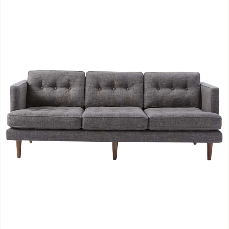 West Elm Peggy Mid Century Sofa - image-0