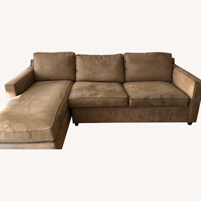 Crate & Barrel 2-Piece Sectional Sofa - image-0