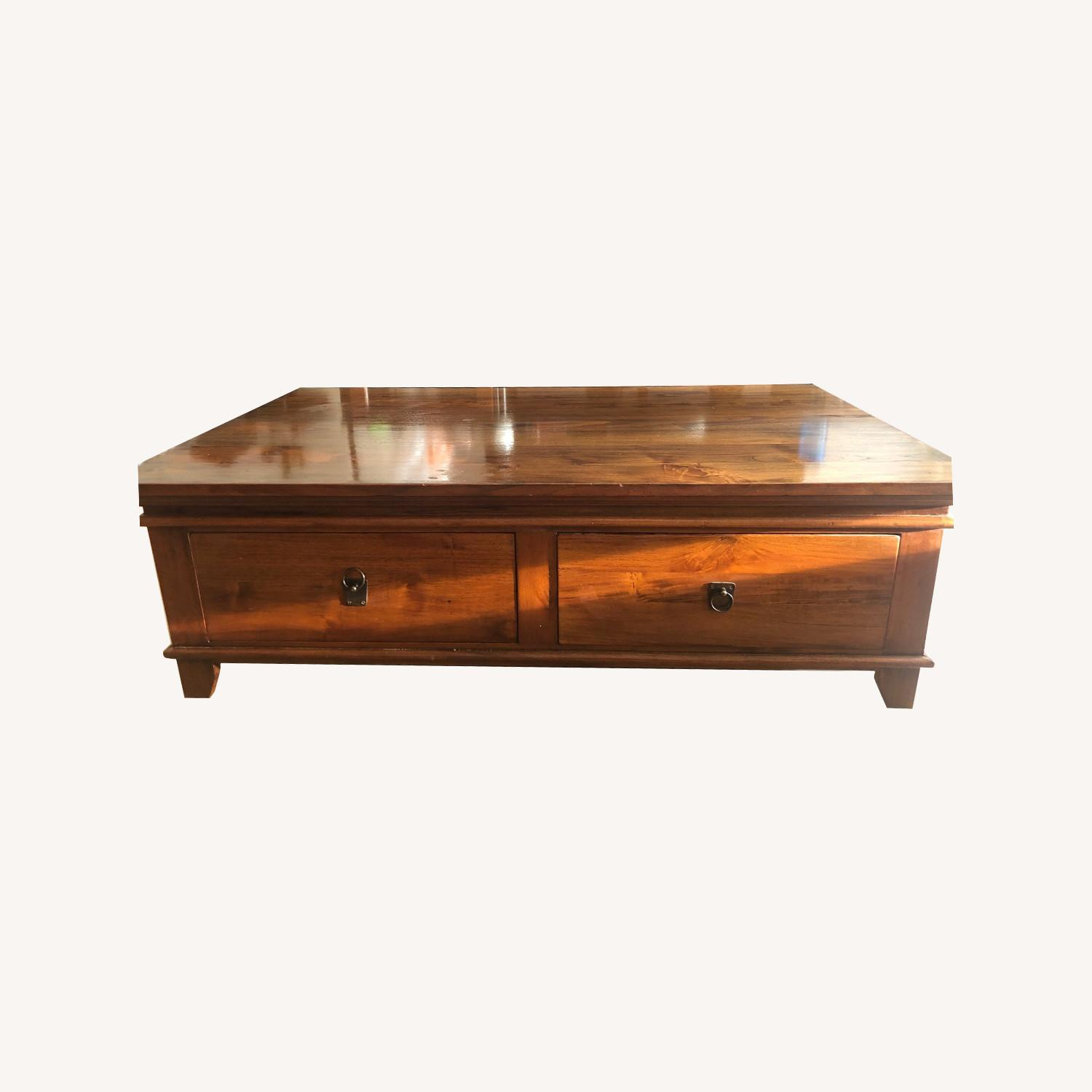 Crate & Barrel Coffee Table - image-0