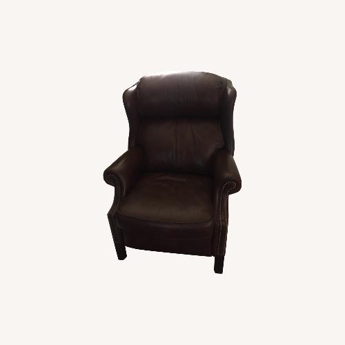 Used Bradington Young Leather Recliner Chair for sale on AptDeco