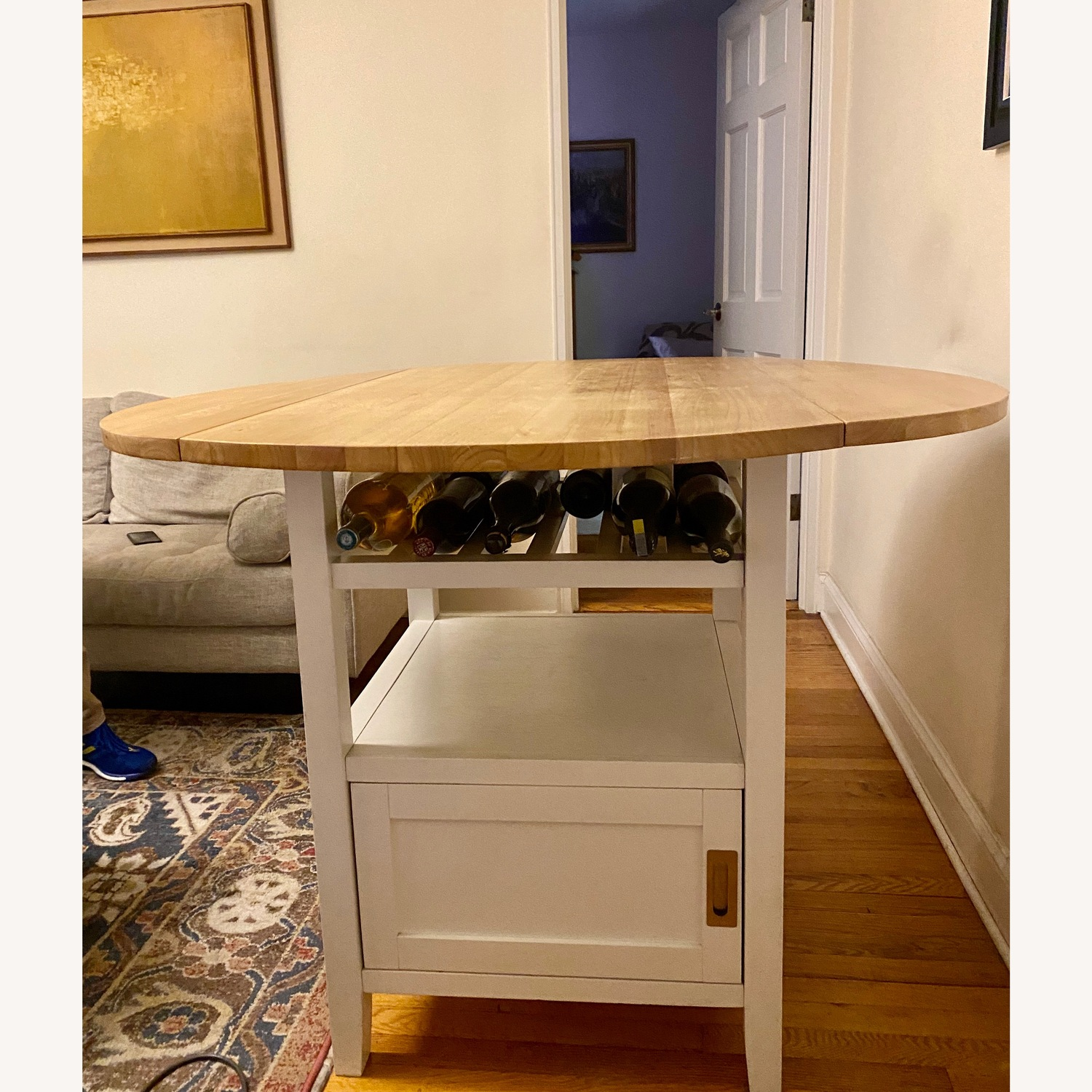 Crate & Barrel Belmont High Dining Table - image-2