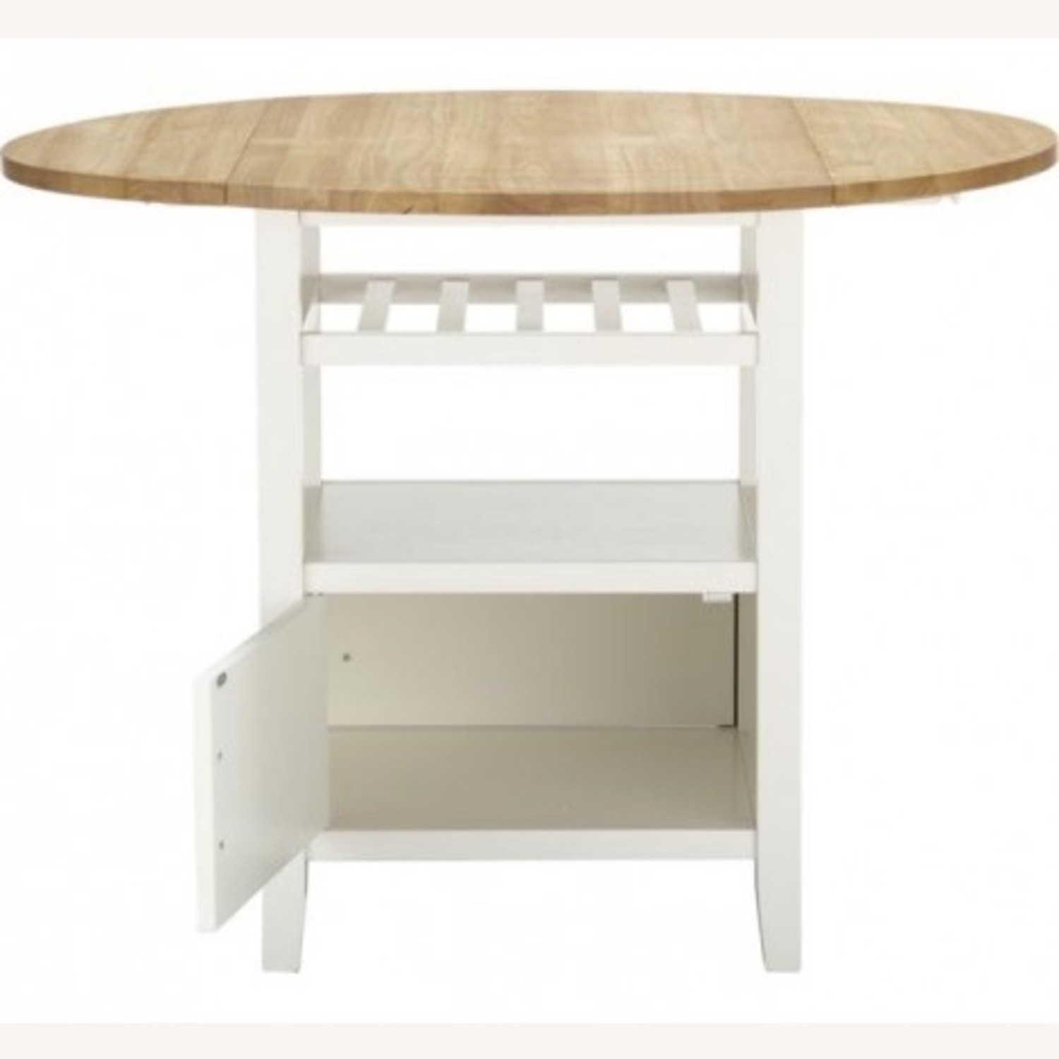 Crate & Barrel Belmont High Dining Table - image-1