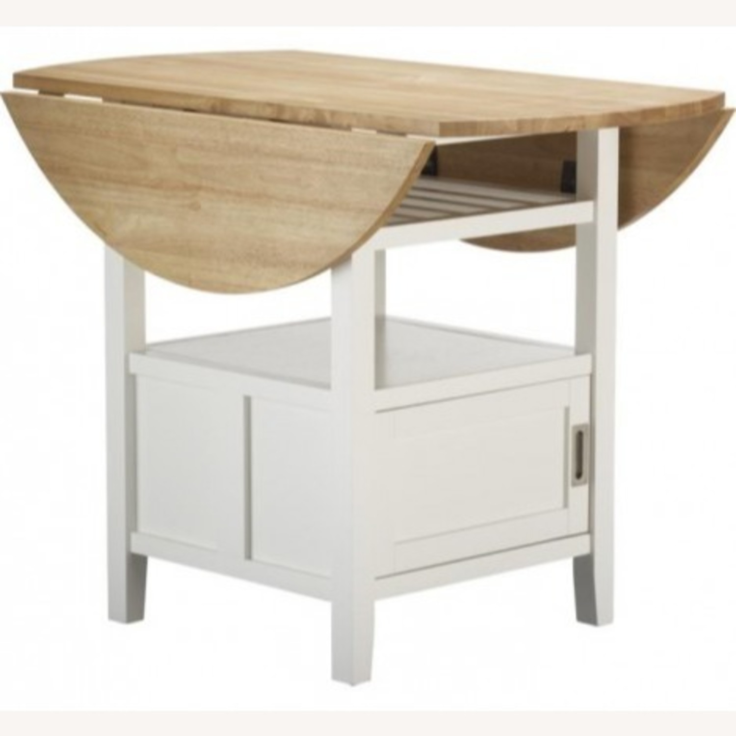 Crate & Barrel Belmont High Dining Table - image-0