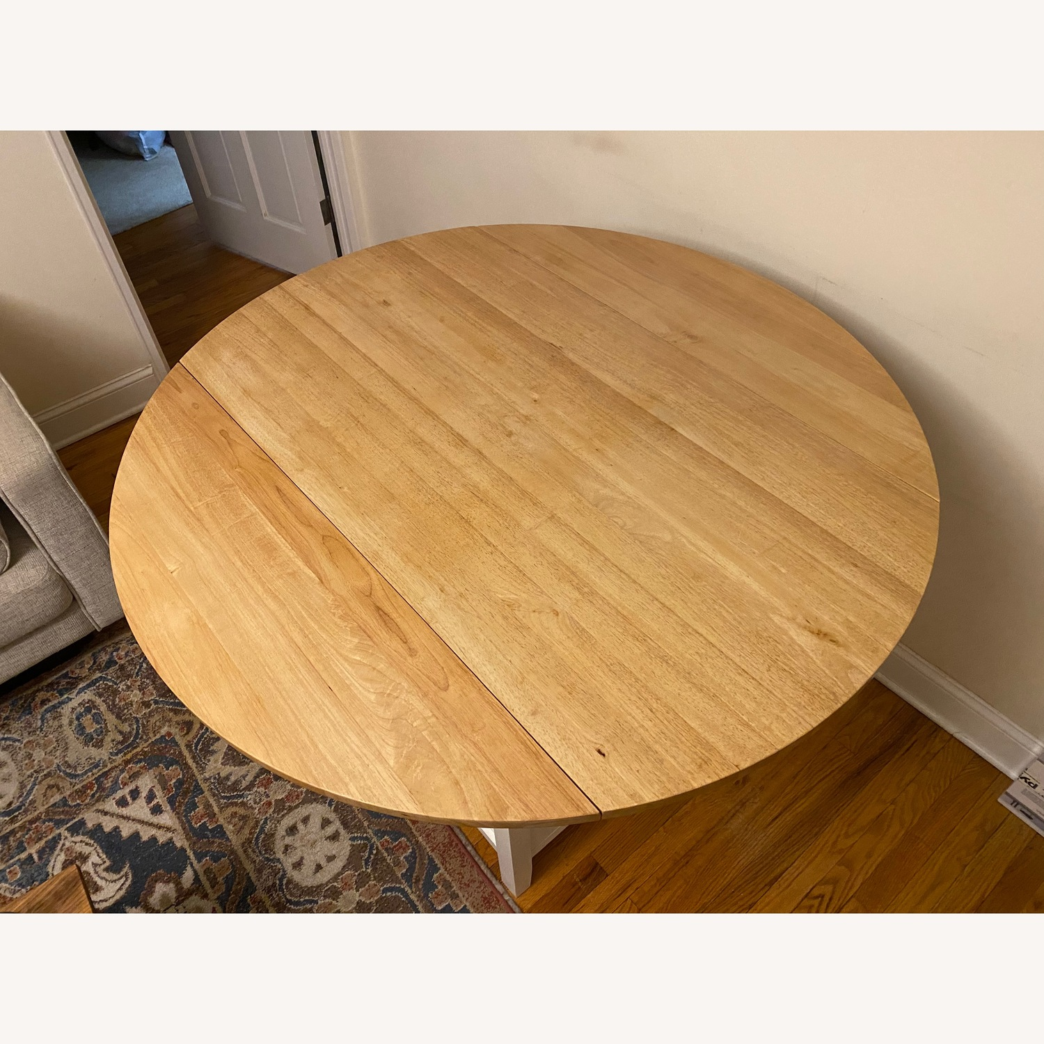 Crate & Barrel Belmont High Dining Table - image-3