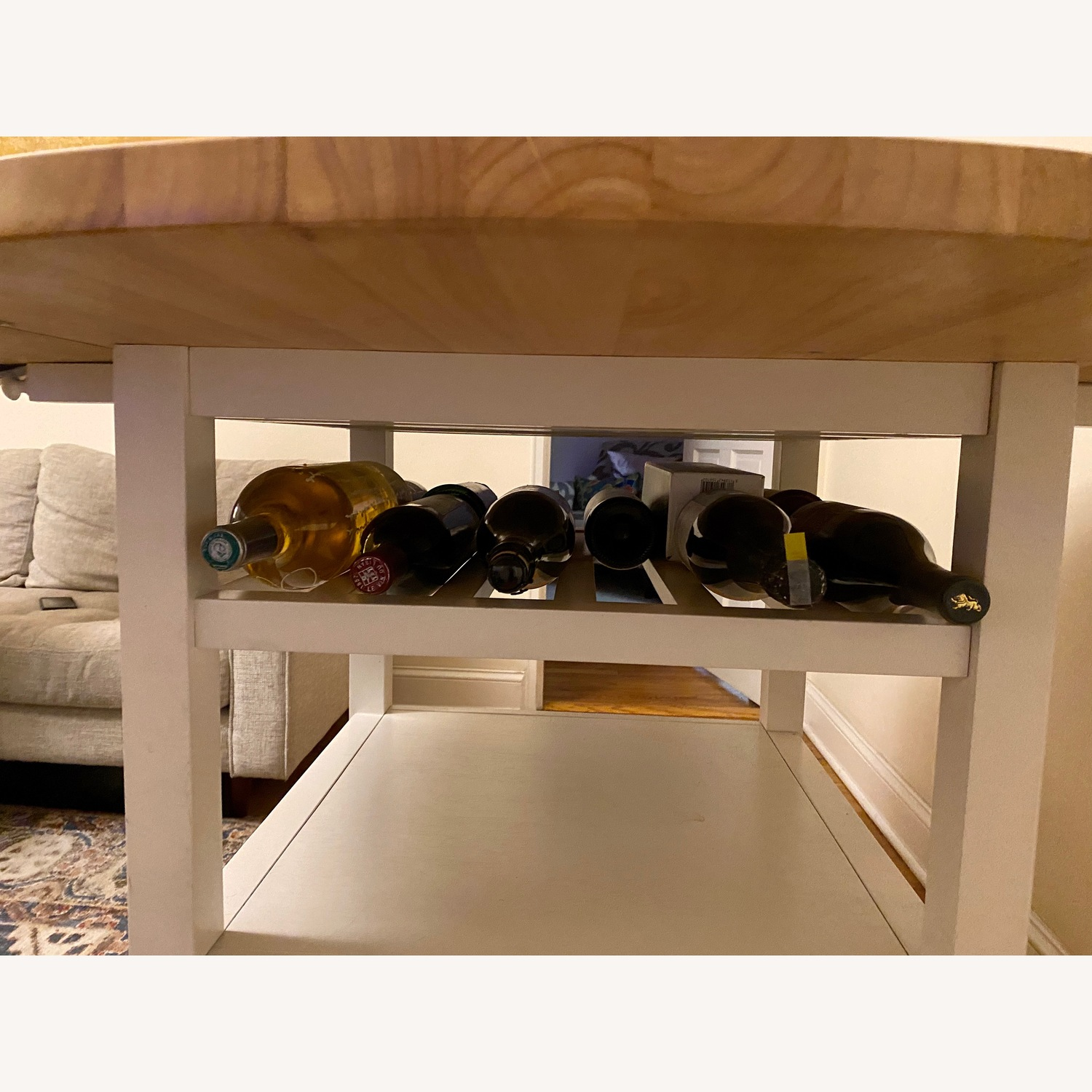 Crate & Barrel Belmont High Dining Table - image-7