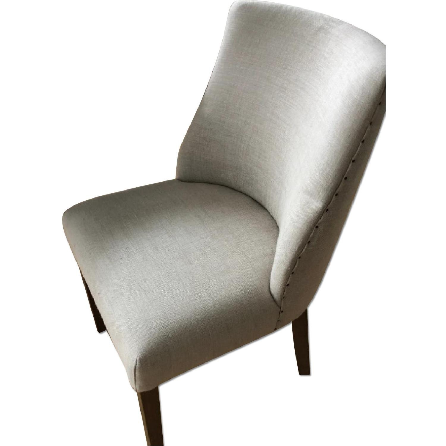 Restoration Hardware 1940S French Barrelback Fabric Chair - image-3
