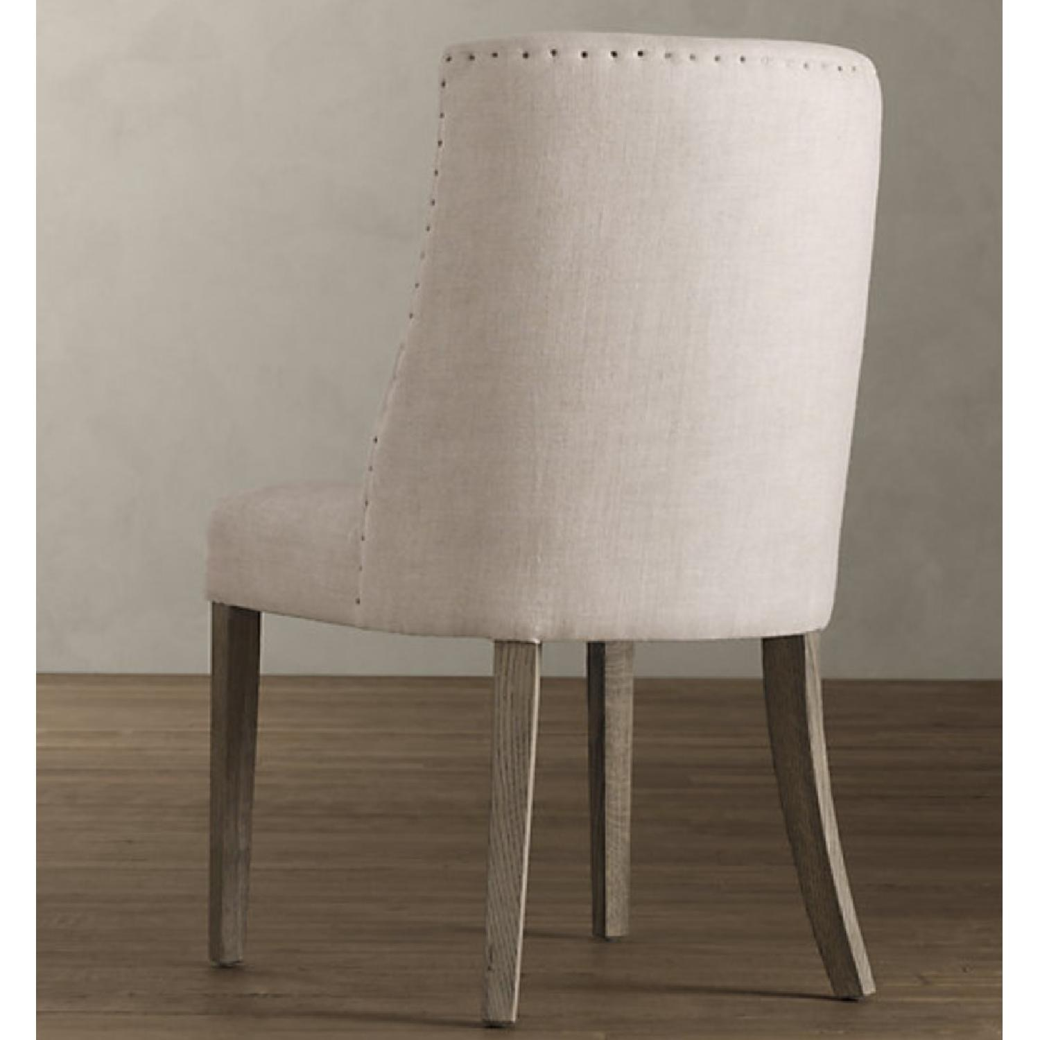 Restoration Hardware 1940S French Barrelback Fabric Chair - image-4