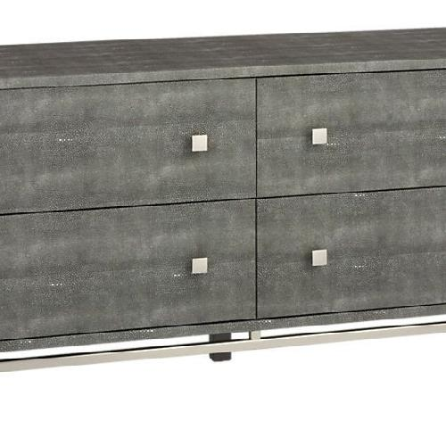 Used CB2 Shagreen Embossed Low Dresser for sale on AptDeco