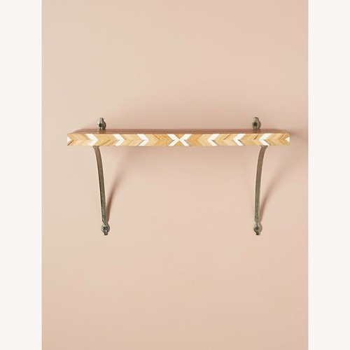 Used Anthropologie Marquetry Shelf for sale on AptDeco