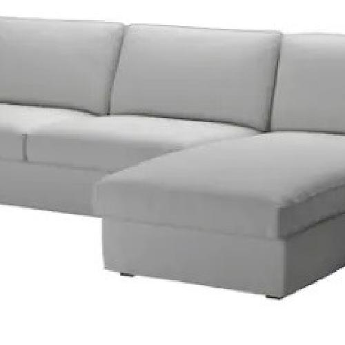 Used IKEA Light Grey Sectional for sale on AptDeco