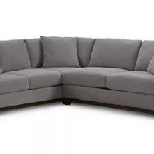 Used Macy's Elliott Fabric 2-Piece Sectional for sale on AptDeco