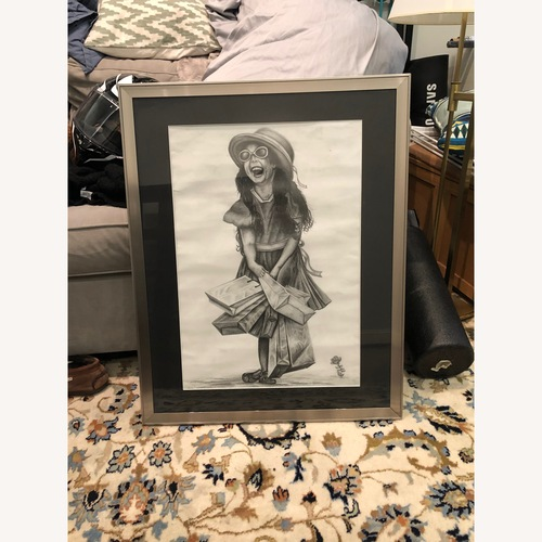 Used Chris Ng Original Sketch Framed for sale on AptDeco
