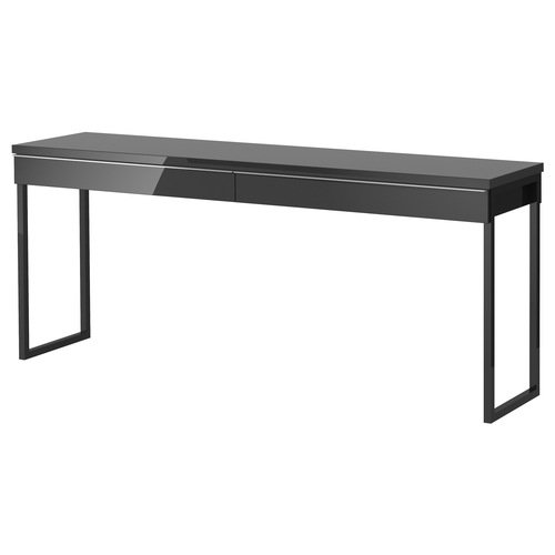 Used IKEA Besta Burs Black Office Desk for sale on AptDeco