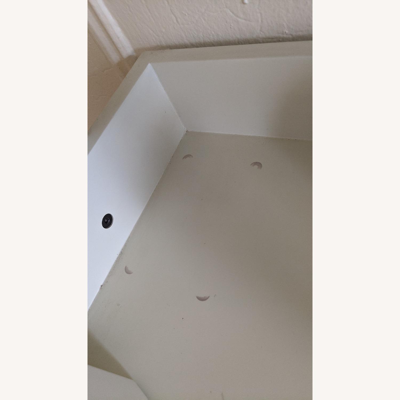 Pottery Barn White Studio Wall Shelf - image-5