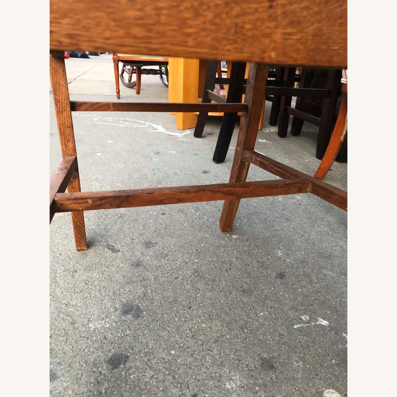 Antique 1930s Solid Oak Chair