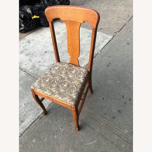 Used Antique 1930s Solid Oak Chair for sale on AptDeco