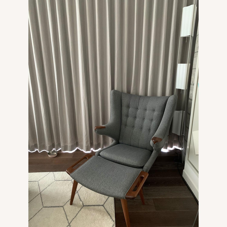 Modernica Papa Bear Chair and Ottoman