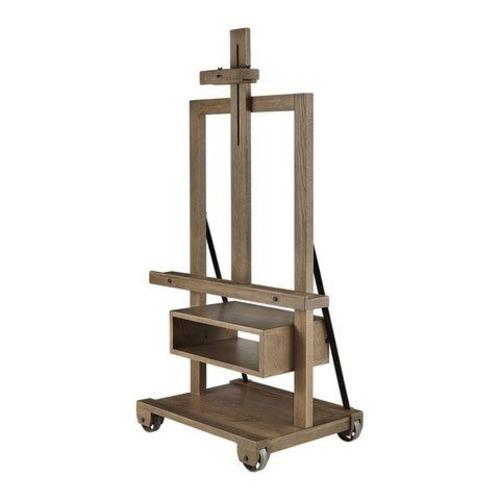 Used Arhaus Easel TV Stand Reclaimed Wood for sale on AptDeco