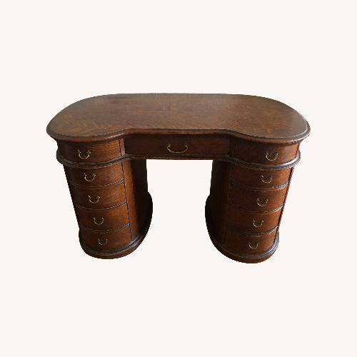 Used Vintage Antique Kidney Shape Desk for sale on AptDeco