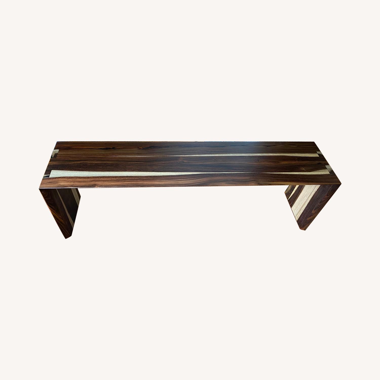 African Walnut Bench
