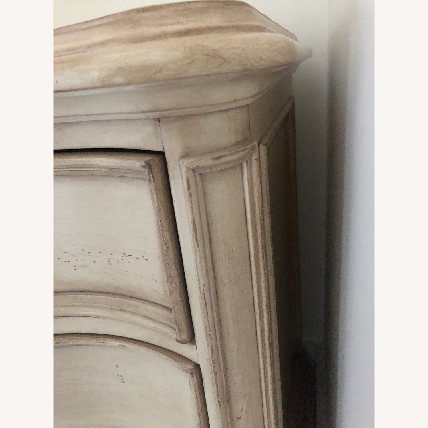 Horchow Off-White Tristan Nightstand - image-4