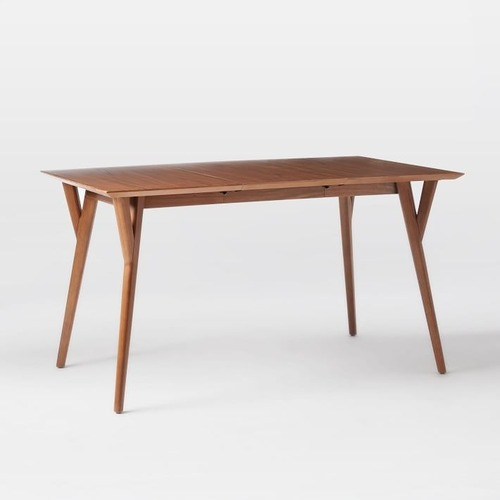 Used West Elm Mid-Century Expandable Dining Table for sale on AptDeco