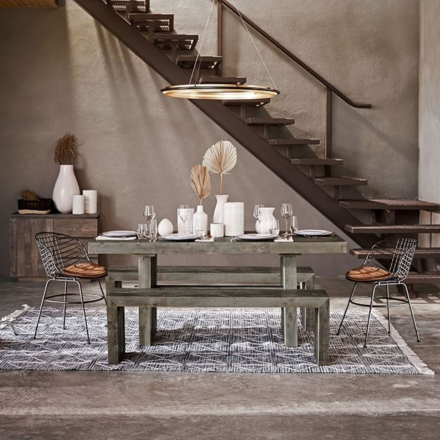 West Elm Emmerson Reclaimed Wood Dining Bench