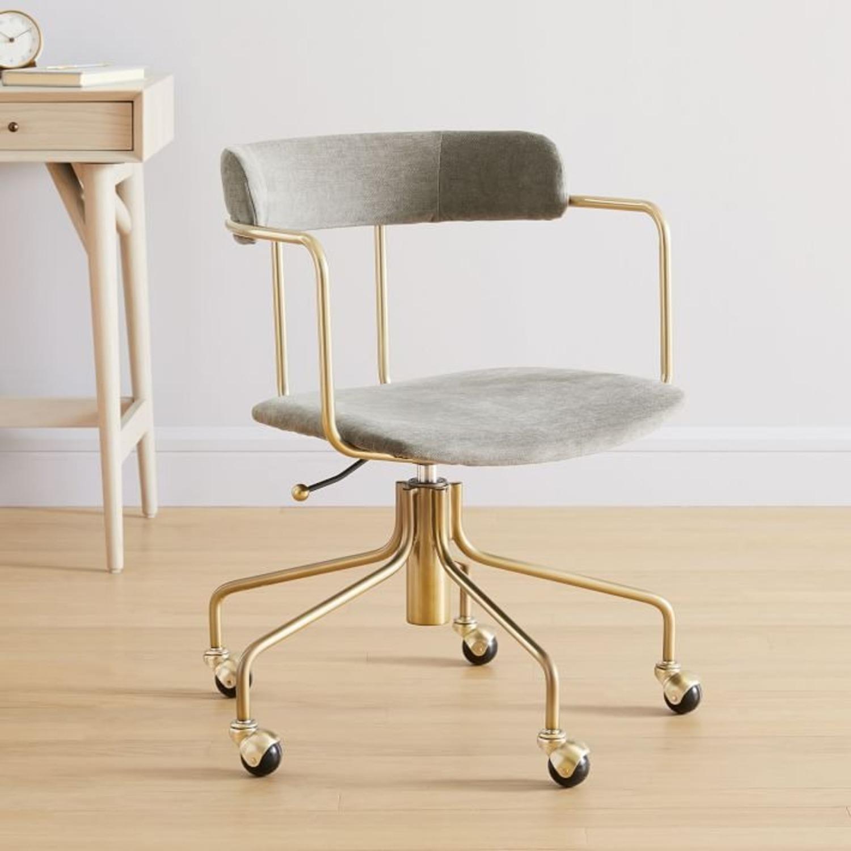 West Elm Lenox Swivel Office Chair