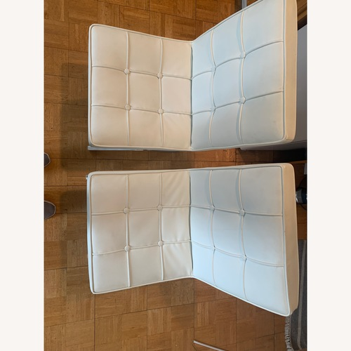 Used Christopher Knight Tufted Leather Accent Chairs for sale on AptDeco