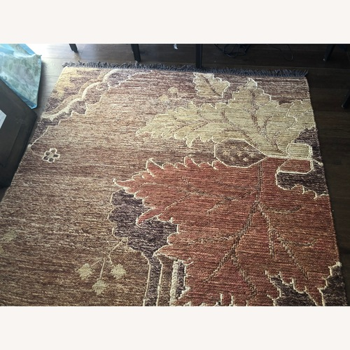Used Crate & Barrel Jute Florence Rug for sale on AptDeco