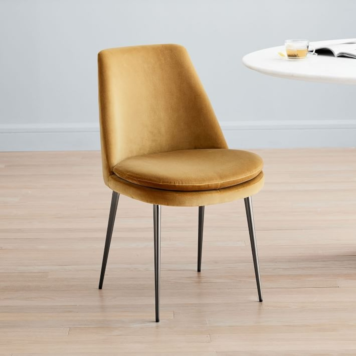 West Elm Finley Low-Back Upholstered Dining Chair