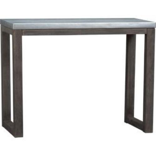 Used CB2 Metal Top Counter Table for sale on AptDeco