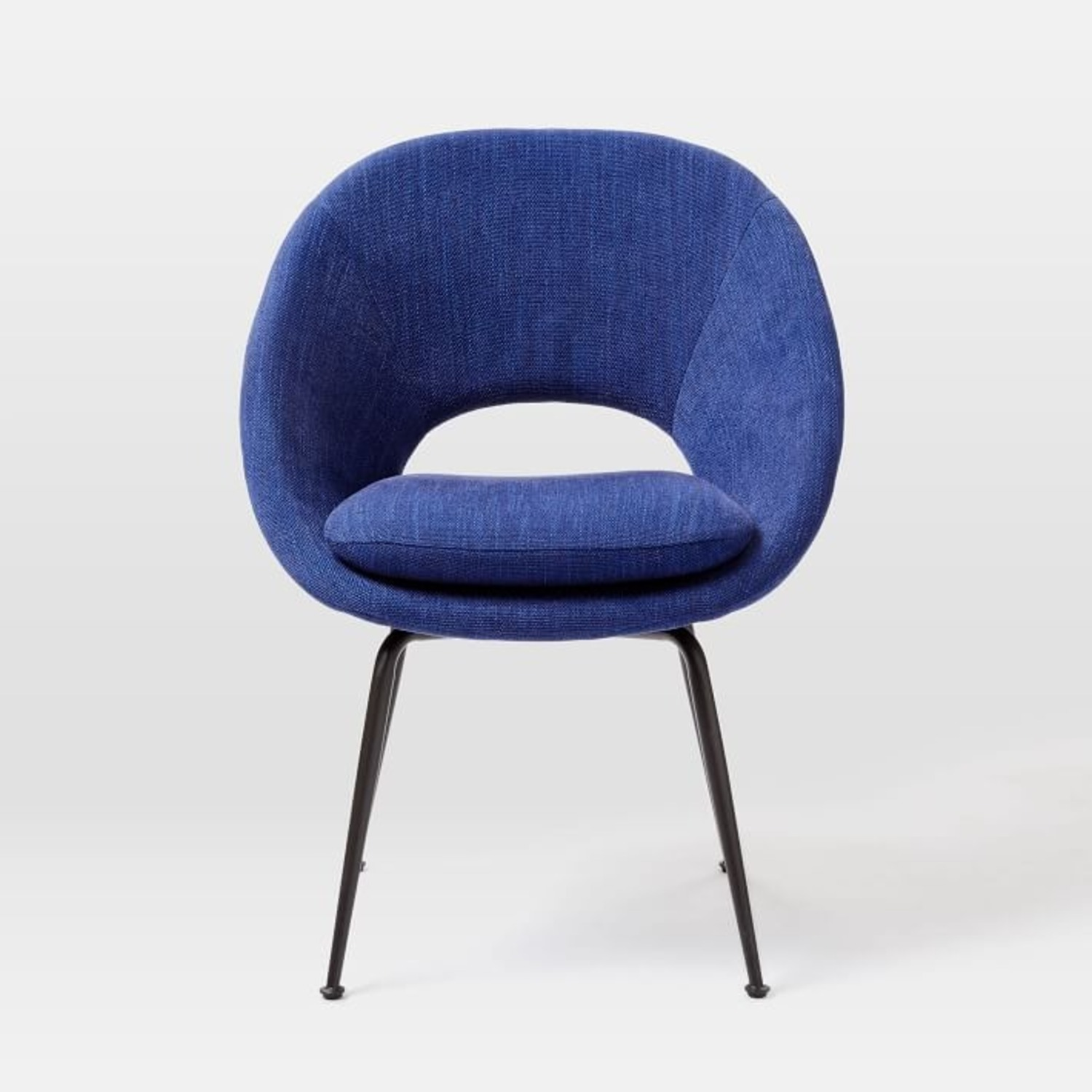 West Elm Orb Upholstered Dining Chair