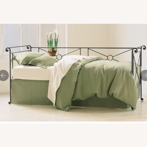 Used Charles P Rogers Wrought Twin Iron Daybed for sale on AptDeco