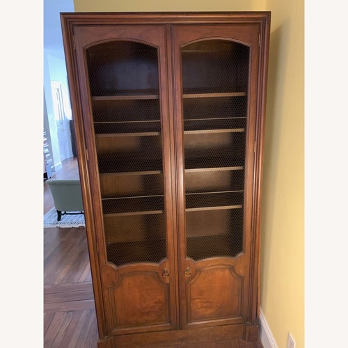 Used Baker French Country Armoire Dining Room Cabinet for sale on AptDeco