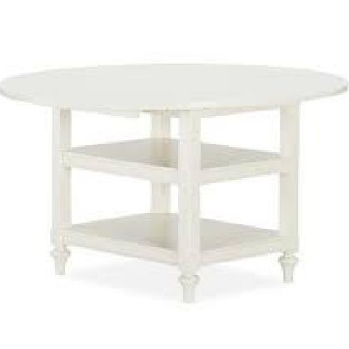 Used Pottery Barn Shayne Drop-Leaf Kitchen Table for sale on AptDeco