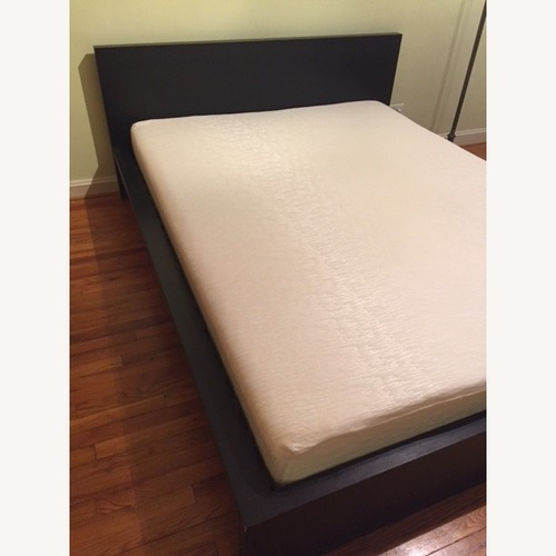 Used Black Queen Size Bed for sale on AptDeco