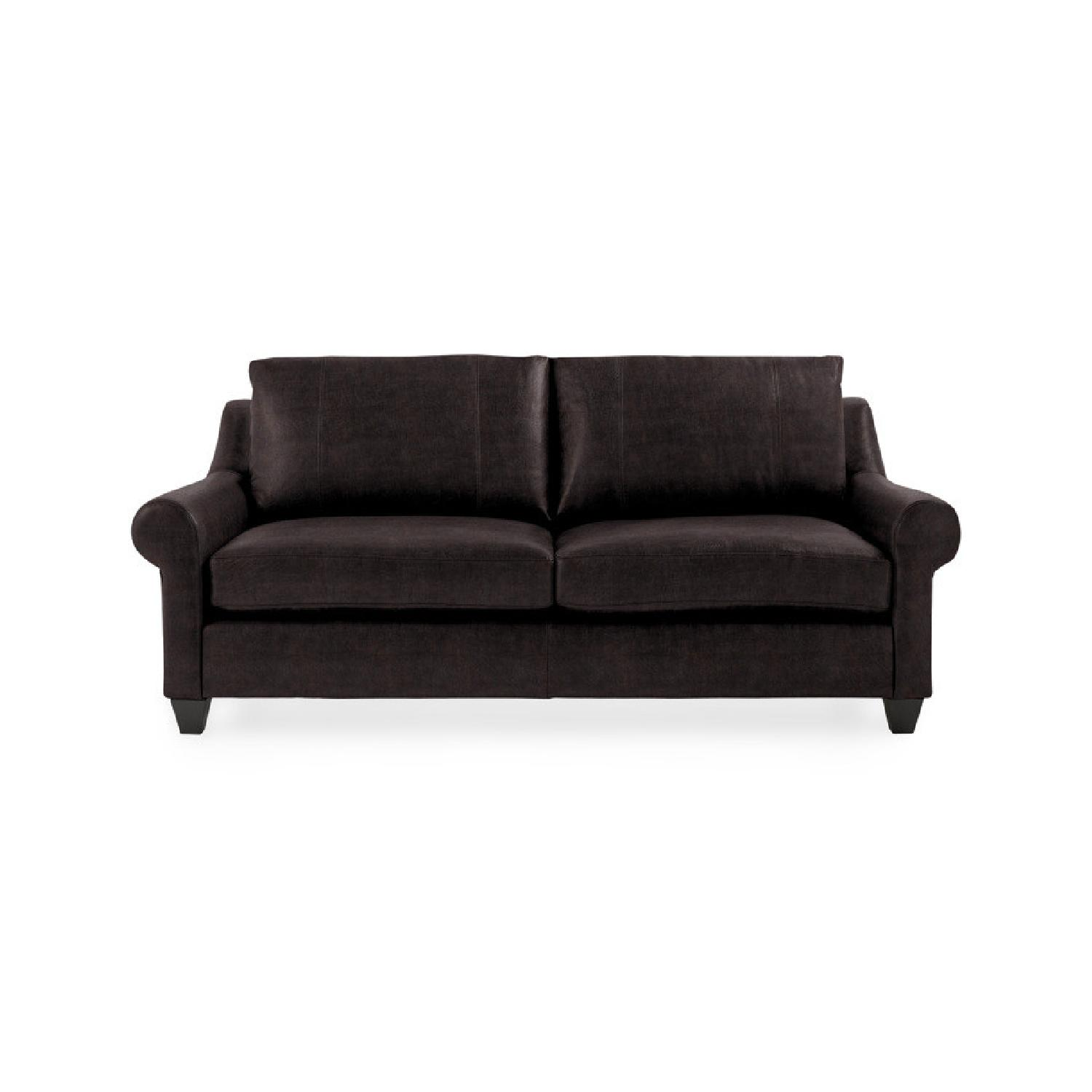 Arhaus Rockway Leather Sofa - image-0